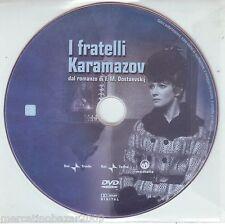 I FRATELLI KARAMAZOV (1969) DVD DISCO 3 quinto e sesto episodio