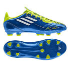 New Mens Adidas F10 TRX HG Blue Lime Moulded Studs Football Boots Size 6-11 UK