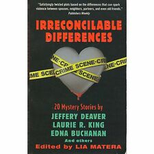 IRRECONCILABLE DIFFERENCES ed Lia Matera PB 2001 Deaver, King, Buchanan, Cross