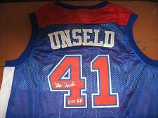 Bullets Wes Unseld signed Jersey  W/COA