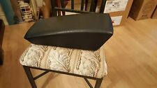 Mercedes W123   BLUE REAR SEAT CENTER CUSHION, FROM A 300CD, 2 DOOR COUPES ONLY