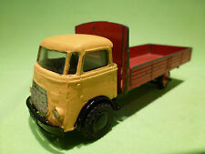 LION CAR  1:50 - KIKKER FRONTSTUUR  -  DAF  YELLOW -   IN REPAINTED CONDITION