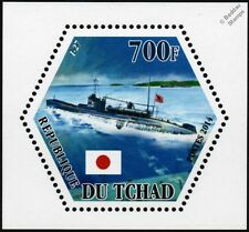 WWII IJN I-27 Imperial Japanese Navy Type B1 Submarine Warship Stamp