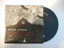 DAVID LYNCH : ARE YOU SURE / STAR DREAM GIRL [ CD SINGLE PORT GRATUIT ]