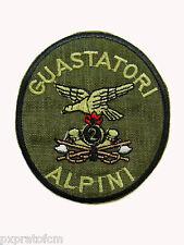 Patch Esercito Italiano 2 Rgt. Guastatori Alpini Verde per Mimetica Vegetata Top