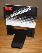 """Non-Skid 5"""" Bookend - OIC 93001 - 1 Pair of New Unused bookends with BONUS item"""