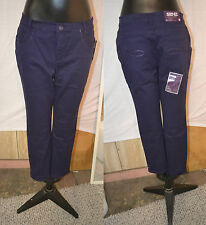 Gloria Vanderbilt Ashley Cadence Ankle Grazer Pants-DEEP AMETHYST-22W-NWT