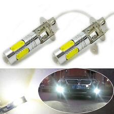 H3 7.5W High Power 6000K Xenon White LED Car DRL Fog/Driving Lights Bulbs Lamp