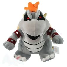 "Cool 10"" Super Mario Dry Bowser Bones Koopa Plush Doll Soft Toy Stuffed Animal"