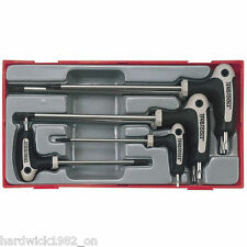 Teng Tools OCTOBER SALE 7Pce TORX Power T Handle STAR Allen Key Set T10-T40