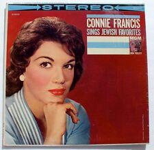 CONNIE FRANCIS Sings Jewish Favorites - STEREO LP - Havah Negilah / 11 more