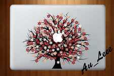 Macbook Air Pro Vinyl Skin Sticker Decal- Pretty Autumn Flower Tree #CMAC087