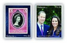 Malaysia 2012 The Diamond Jubilee of QE II ~ Mint