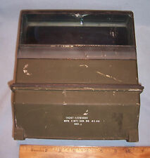 US Army USMC Tank Armored Vehicle Commander Driver Periscope Optical Prism Lens