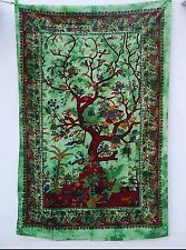 Tree Of Life Celtic Twin Indian Tapestry Wall Hanging Hippie Boho Dorm Bedspread