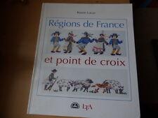 Rozen LucasRégions de France et point de croix DMC 2001
