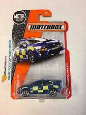 '15 Subaru WRX STI #60 * Blue * Matchbox 2017 * Case G