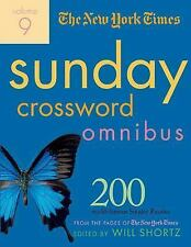 Sunday Crossword Omnibus Vol. 9 : 200 World-Famous Sunday Puzzles by New York...