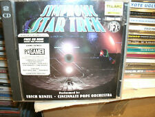 Cincinnati Pops Orchestra - Symphonic Star Trek (2007) PLUS CD ROM,2CD