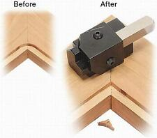 "1/2"" dia. 90 Degree Corner Chisel Hinge / Hardware Square Punch Mortise 3/8 leg"