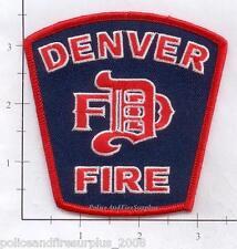Colorado - Denver CO Fire Dept Patch