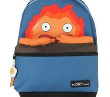 STUDIO GHIBLI ANIME HOWL'S MOVING CASTLE FIRE DEMON CALCIFER BACKPACK NEW