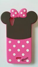 Silicone Cover per cellulari MINNIE para WIKO RAINBOW LITE