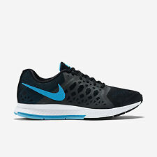 Men's Nike Air Zoom Pegasus 31 Sz 12 Black Blue White 652925-004 FREE SHIPPING