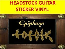EPIPHON SHERATON GOLD HEADSTOCK STICKER VISIT OUR STORE WITH MANY MORE MODELS
