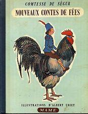 ENFANTINA. NOUVEAUX CONTES DE FEES. COMTESSE DE SEGUR. ALBERT URIET. 1952