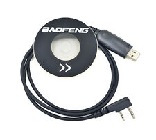 Original USB Programming Cable CD Software For BAOFENG UV5R plus UV5RE plus New