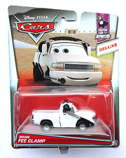 Disney Pixar Cars 2017 Deluxe Brian Fee Clamp #1/16 Imperfect Package