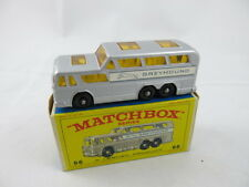 Lesney Matchbox England Greyhound Bus #66 Series E Box