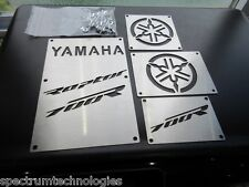 CUSTOM 13-17 YAMAHA RAPTOR 700 R 700R FENDER WARNING TAGS PLATES BADGES NEW!