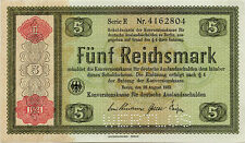 Nazi Germany 5 Reichsmark 1933 Conversion Nr4162804