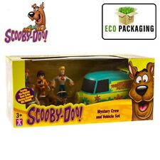 Scooby Doo Mini Mystery Machine Crew & Vehicle Play Set 5 Mini Figures