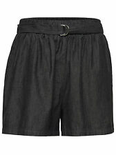 261* NEU ONLY Damen  Short Hose NOVA BLACK CB SAFARI SHORTS WVN  Gr. 38