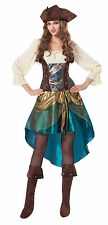 Da donna PRINCIPESSA PIRATA COSTUME HALLOWEEN COMPLETO UK 10-14
