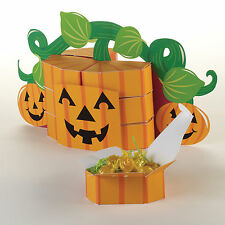Halloween faveur box centrepiece pumpkin party tabe décorations & favor boîtes