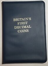 A Set of Britain's First Decimal Coins