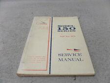 CESSNA MODEL 150 SERIES 1969-1974 SERVICE MANUAL
