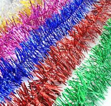 Thick Christmas Tinsel 1 METRE Garland Christmas Tree Decoration