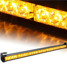 "Amber 31.5"" Emergency Warning Traffic Advisor 7 Modes Vehicle Strobe Lights"