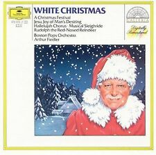 White Christmas: A Christmas Festival [1970] by Boston Pops Orchestra (CD, DG De