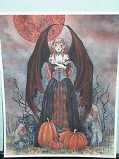 Amy Brown - Harvest Moon - OUT OF PRINT