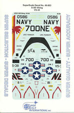 1/48 SuperScale Decals US Navy Viking S-3B VS-38 48-893