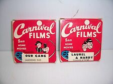 VTG OUR GANG LITTLE RASCALS HOME MOVIES 8mm LAUREL AND HARDY CRIMINALS AT LARGE