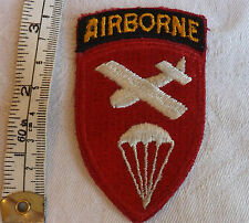 Military WW2 American 101st airborne parachute glider Officer Cloth Badge (1393)