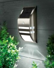 Solar Powered Wall/Porch/Fence Light With Intelligent Standby Feature JOBLOT X 5