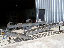 "Hytrol 190-RB Roller Bed Type Powered 18"" Wide Belt Conveyor 28' OAL X 24"" OAW"